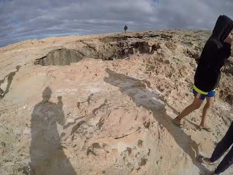Thunder Bay Blowholes, Steep Point, WA