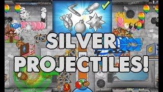 SILVER PROJECTILES UNLOCKED! Bloons TD B...
