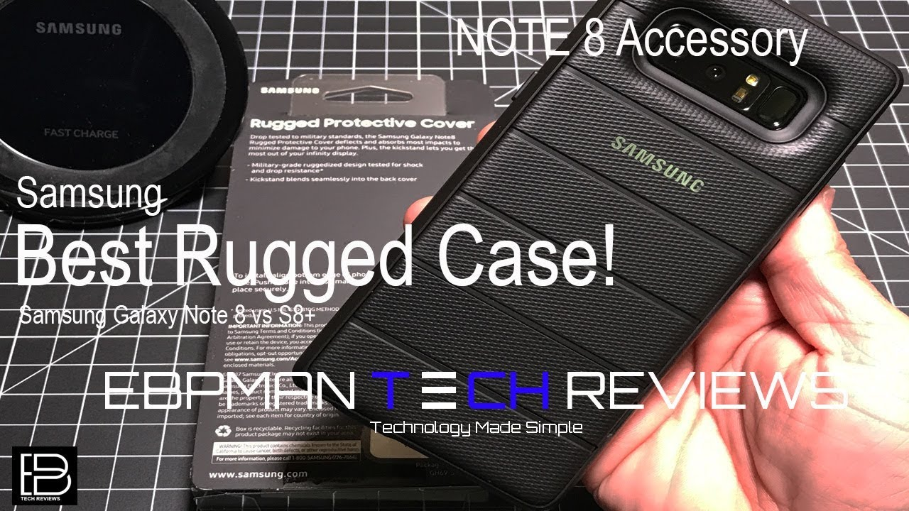 best website fc87a 9a05e The Best Samsung Rugged Case for the Samsung Galaxy Note 8 from Samsung!