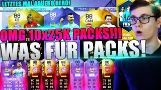 FIFA 16: PACK OPENING (DEUTSCH) - ULTIMATE TEAM - 10x 25K PACKS! OH SHIT!! [HERO AGÜERO, BOATENG IF]