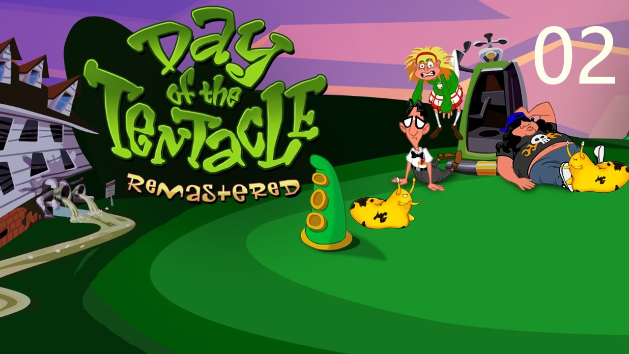 Let's Play – Day of the Tentacle Remastered – Episode 2 [Chop Chop]: