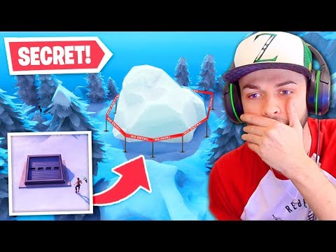 NEW *SECRET* Snow Bunker in Fortnite FOUND!