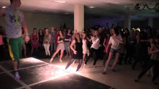 Zumba Animation MAGIC United Salsa Party 18 04 2015 trening moll