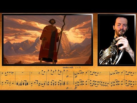 The Prince of Egypt - Chariot Race || French Horn & Trumpet Cover