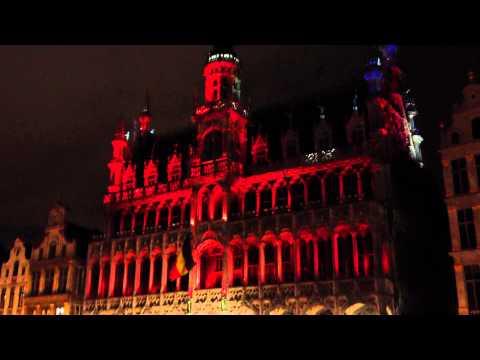 Grand Place-Grote Markt, Bruseels, Belgium - 12/31/12