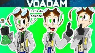 Ask Science Baldi Part 1 (Baldi's Basics Comic Dubs) With Principal and Science Baldi!
