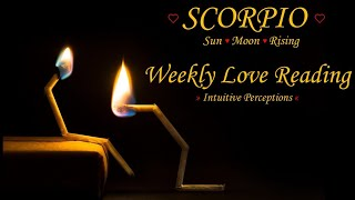 SCORPIO - AUGUST 5-11 2018 LOVE TAROT READING