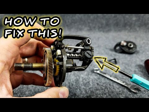 Baitcaster Repair - How To Replace A Damaged Pawl (THIS IS WHY YEARLY MAINTENANCE IS IMPORTANT)