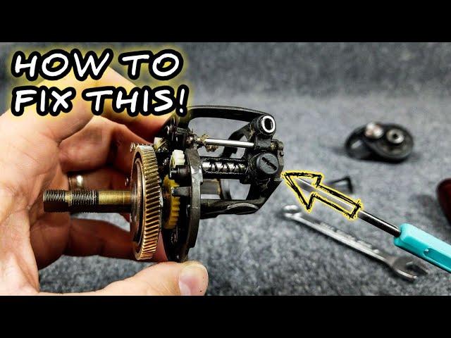 Garcia reel repair parts worm /& pawl