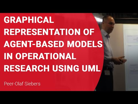 Graphical representation of agent-based models in Operational Research using UML
