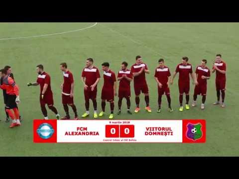 FCM Alexandria - Viitorul Domnesti 7-0 (rezumat)