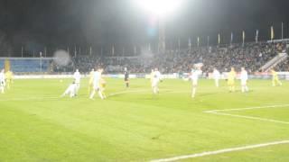 Незасчитанный гол Бухаров в матче Ростов - Зенит- 0:0