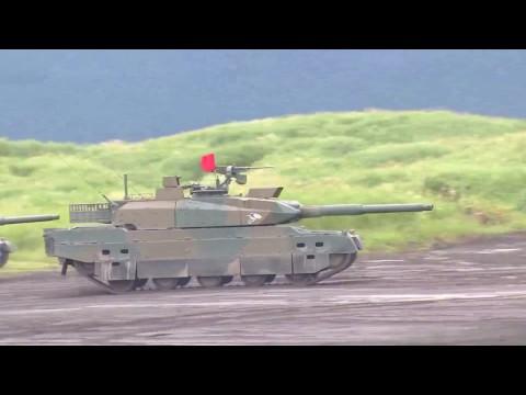 JGSDF - Fuji Combined Firepower Exercise 2016 : Armour Assets Live Firing [1080p]