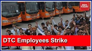 Delhi Transport Corporation Staffs To Go On Strike For One Day