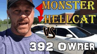 392 owner has no words after driving my 1000hp Hellcat - Epic