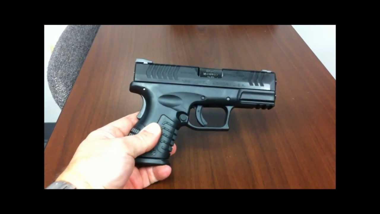 Review Of The Springfield Armory Xdm 38 Compact 9mm Youtube