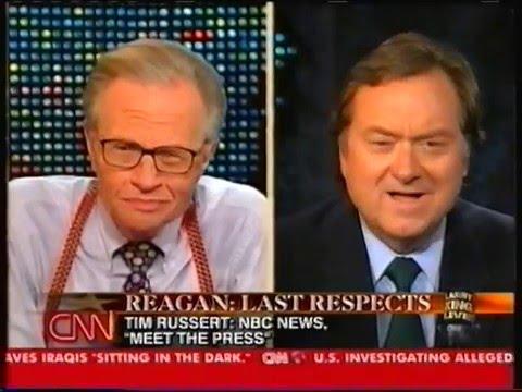 CNN Larry King: Death of Ronald Reagan. June 10, 2004