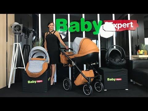 Wózek dziecięcy - Anex Sport 3 w 1