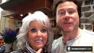 Dean_Shooting with Paula Deen