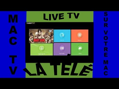 Application TV Sur Mac Live TV Regarder La Télé sur Votre MacBook iMac