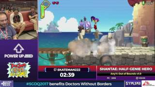 Shantae: Half-Genie Hero by skateman222 in 1:02:22 - SGDQ2017 - Part 108