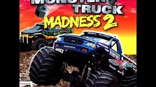 Microsoft Monster Truck Madness 2 (1997 - PC) Intro + Gameplay