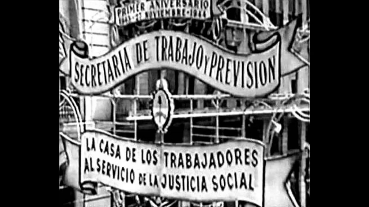 Resultado de imagen para peron en la bolsa de comercio 1944