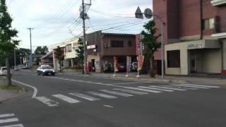 米沢警察署緊急走行1