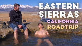 Natural Hotsprings, Mono, and Convict Lake in 4K | Sierras Rt. 395