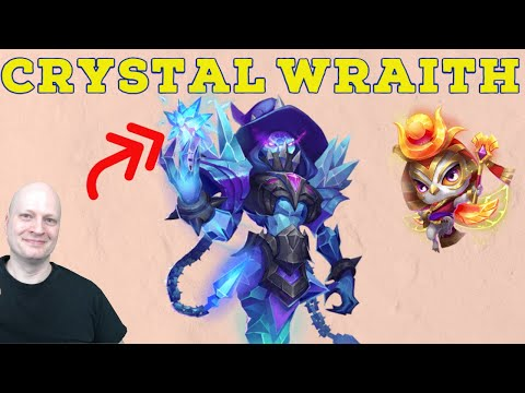 Crystal Wraith | Castle Clash | Free Roll Best Talent | Game Play