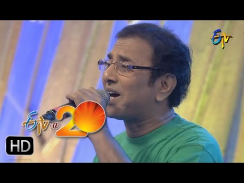 Vandemataram Srinivas Performance - Ooru Manadira Song In Kadapa ETV @ 20 Celebrations
