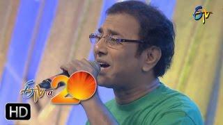 Vandemataram Srinivas Performance - Ooru Manadira Song in Kadapa ETV @ 20 Celebrations