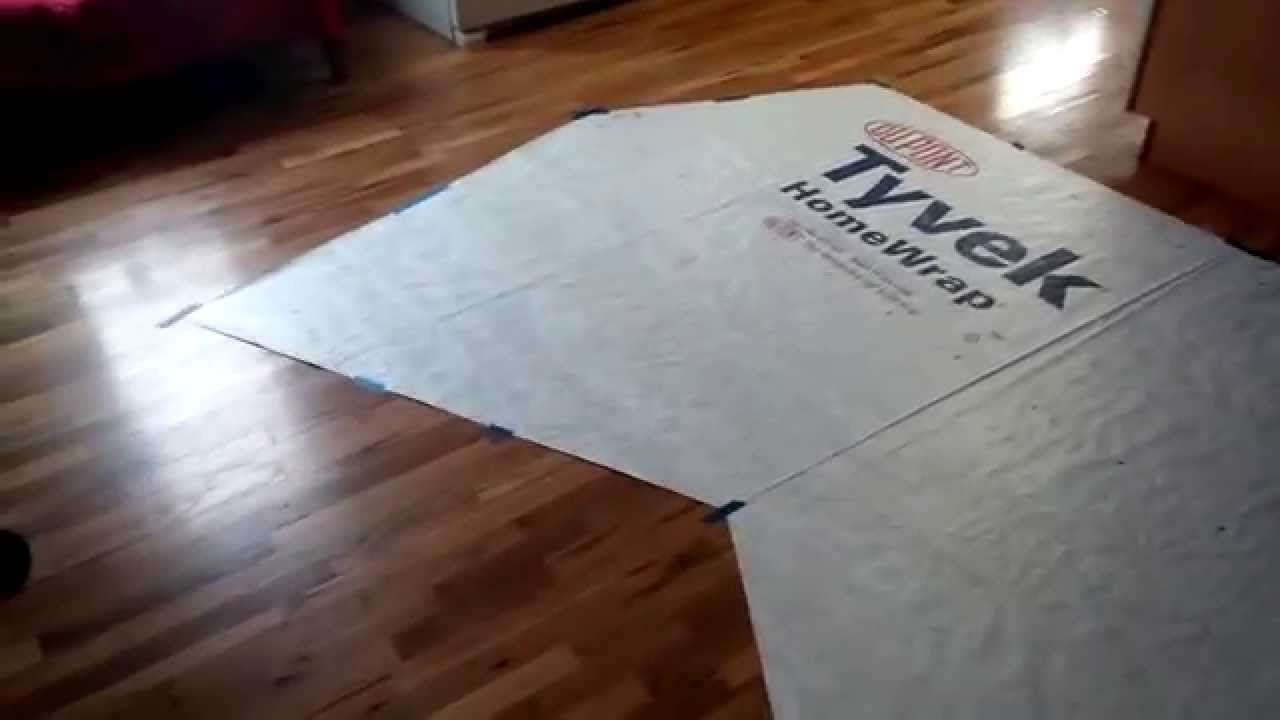 & 20140402 DIY Tyvek Ultralight Tarptent - YouTube