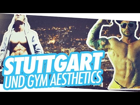 Stuttgart Vlog #1 - RoadToGlory meets Gym Aesthetics - ROADTOGLORY