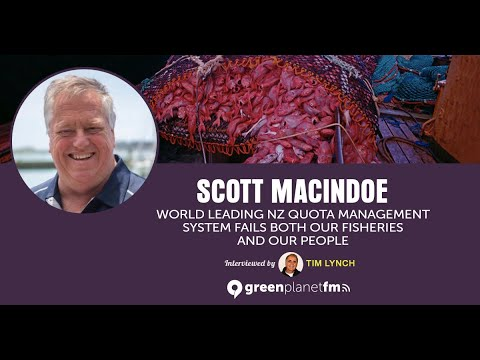 Scott Macindoe: World Leading NZ Quota Management System Fails Both Our Fisheries And Our People