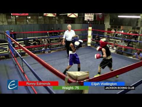 Jackson, Tn Boxing 26MAR2016 R Edmonds vs E Wellington