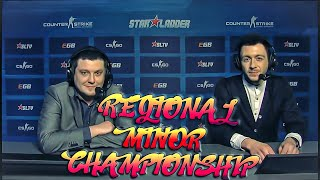 Лучшие моменты CS GO Regional Minor Championship CIS 2016