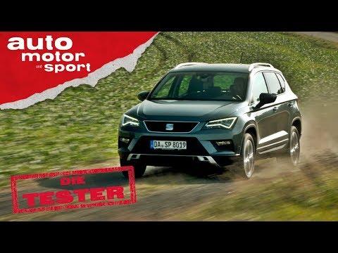 Seat Ateca 1.4 TSI:  Der spanische Tiguan - Die Tester | auto motor und sport
