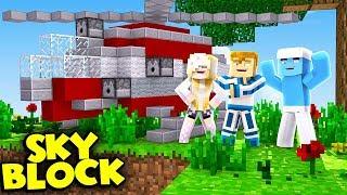 KUPILIŚMY HELIKOPTER  | Minecraft Skyblock S3 #9