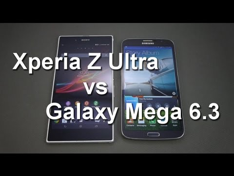 Sony Xperia Z Ultra vs Samsung Galaxy Mega 6 3