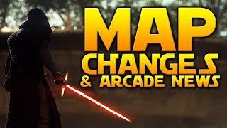 MAP CHANGES & ARCADE NEWS - Star Wars Battlefront 2