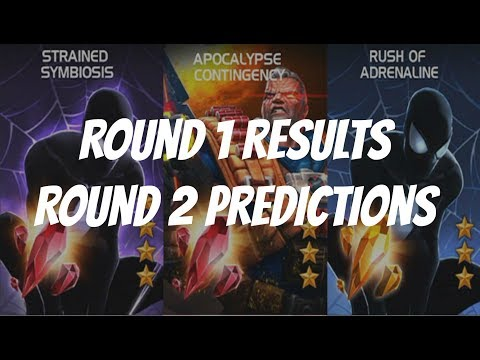 Marvel Contest of Champions Arena Cutoff - Spider-Man Symbiote and Cable Results & Predictions