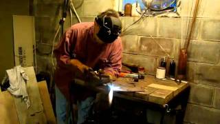 Demonstrating  Purox Acetylene oxygen  Welding Torch