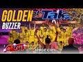 V. Unbeatable: Dwyane Wade Hits GOLDEN BUZZER For Indian Dance Group | America's Got Talent 2019