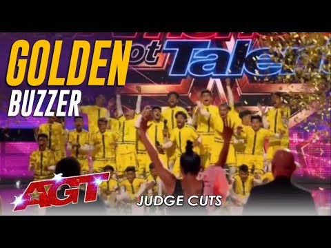 V Unbeatable Dwyane Wade Hits Golden Buzzer For Indian Dance