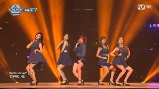 [Special M COUNTDOWN in CHINA] 「INTRO + Mirror / FIESTAR」(2016年6月2日放送)