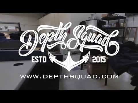 DEPTH SQUAD BTS X KRUCIAL SCREEN PRINTING