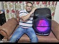 Zebronics ZEB TRX115L trolley speaker Karaoke with Recording MOB 9650722798 www.TulipSmile.com