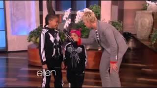 B-Girl Terra & Eddie at Ellen show