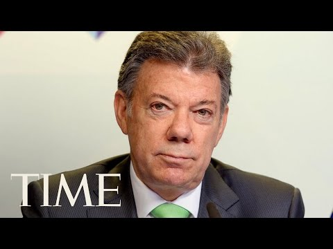 President Trump & Colombian President Santos Joint Presser   TIME